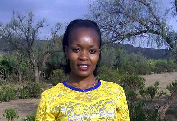Portrait von Esther Nyambura Juma