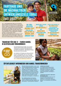 <p>Informationen über Fairtrade in Zusammenhang mit den Sustainable Development Goals (SDGs).</p>